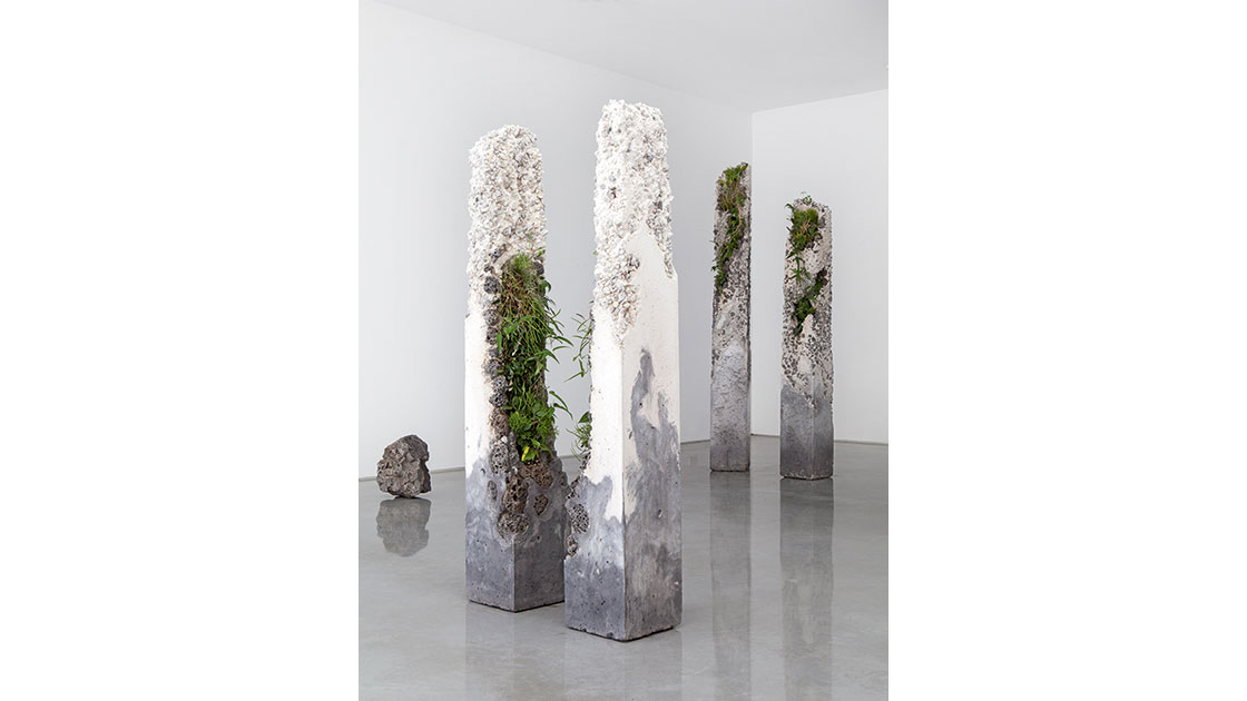 Jamie-North,-Terraforms,-(installation-view),-2014,-cement,-marble-waste,-limestone,-steel-slag,-coal.jpg