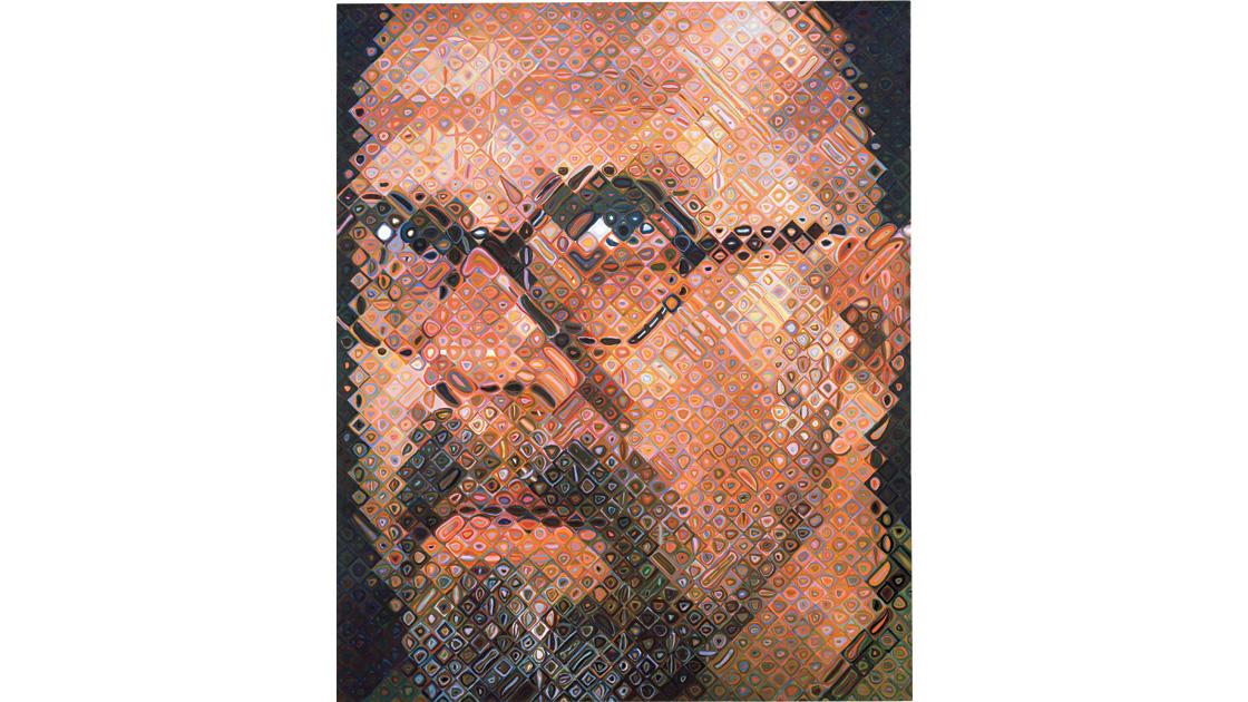 Self-Portrait, 1997, oil on canvas, 259 x 213cm
