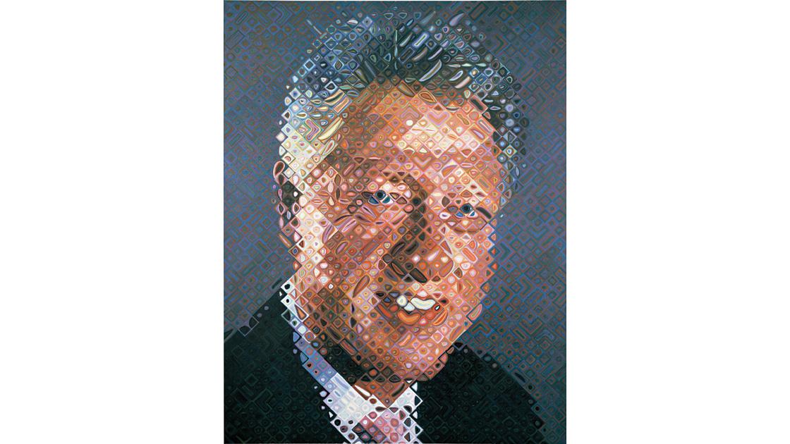 President Bill Clinton, 2006, oil on canvas, 276 x 213cm