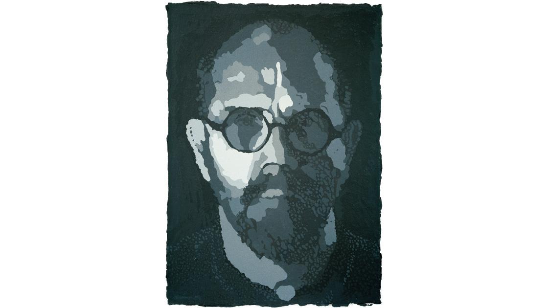 SP-PulpChuck Close, Self-Portrait/Pulp, 2001, (Progressive Proof I), 101 x 146cm
