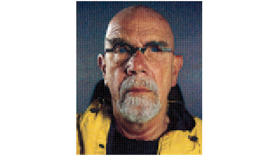 Self-Portrait (Yellow Raincoat), 2013, archival watercolour pigment print (90º) on Hahnemühle rag paper, 191 × 152cm, ed. of 10