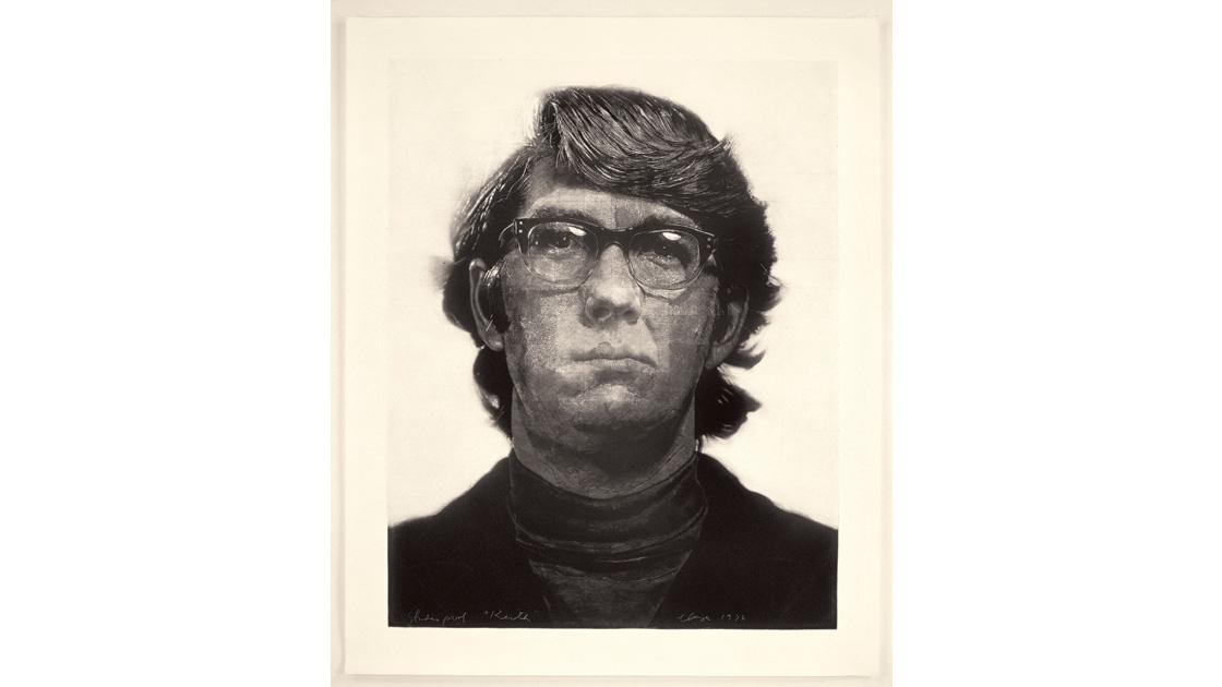 Keith/Mezzotint, 1972, mezzotint, 113 x 90cm, ed. of 10, photograph by Maggie  L. Kundtz