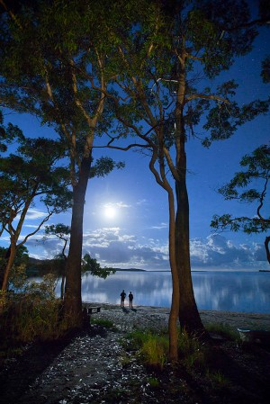 Adam Craven, 'Moonrise, Smiths Lake', 2010, photographic print