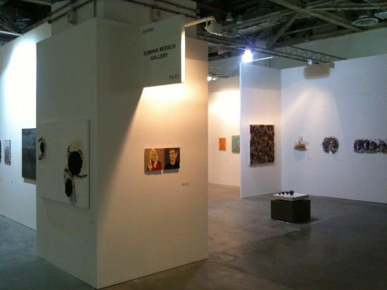 Dominik Mersch Gallery, Installation View. Courtesy Dominik Mersch Gallery