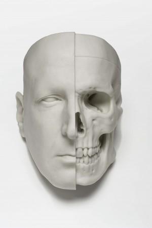 Sam Jinks, Calcium divide, 2011, calcium carbonate resin, 20 x 15 x 17.2cm