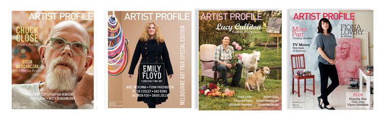Artist Profile Magazines