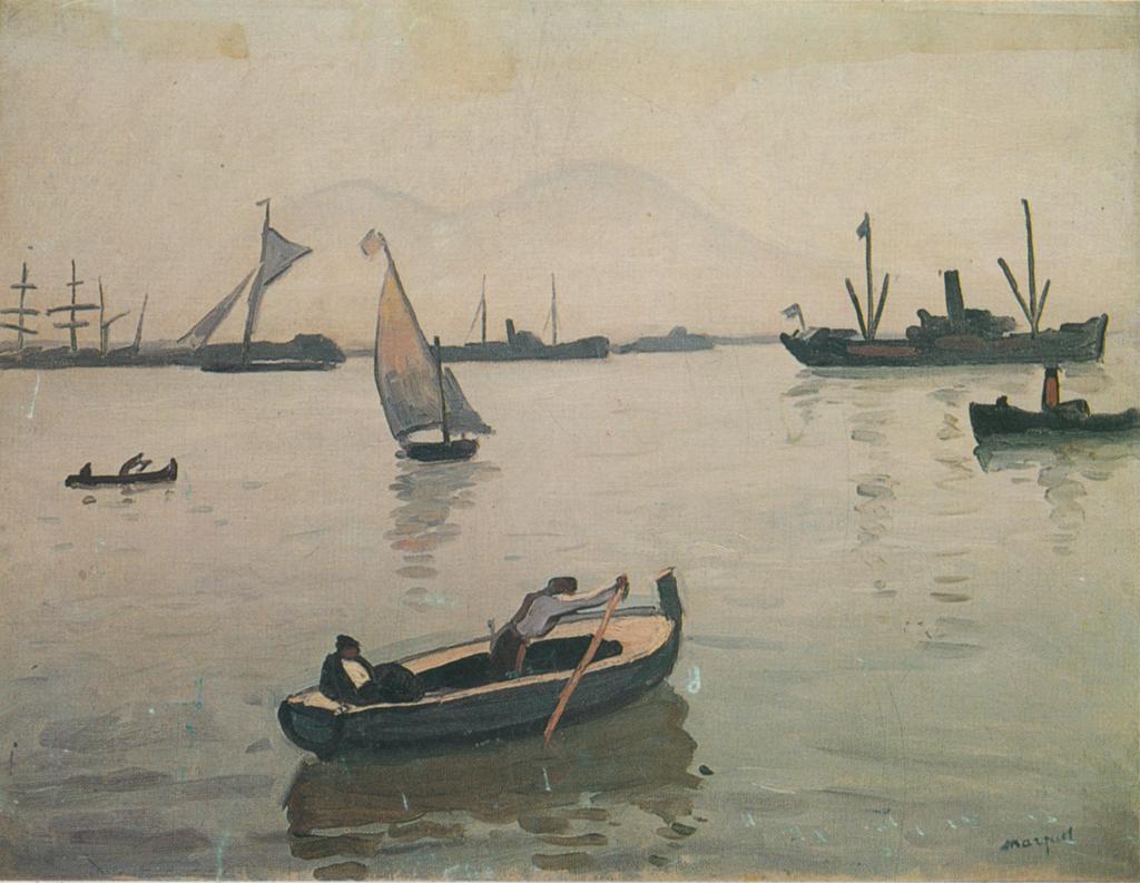 Albert Marquet (1875-1947), Naples, 1909, oil on canvas. Johannesburg Art Gallery