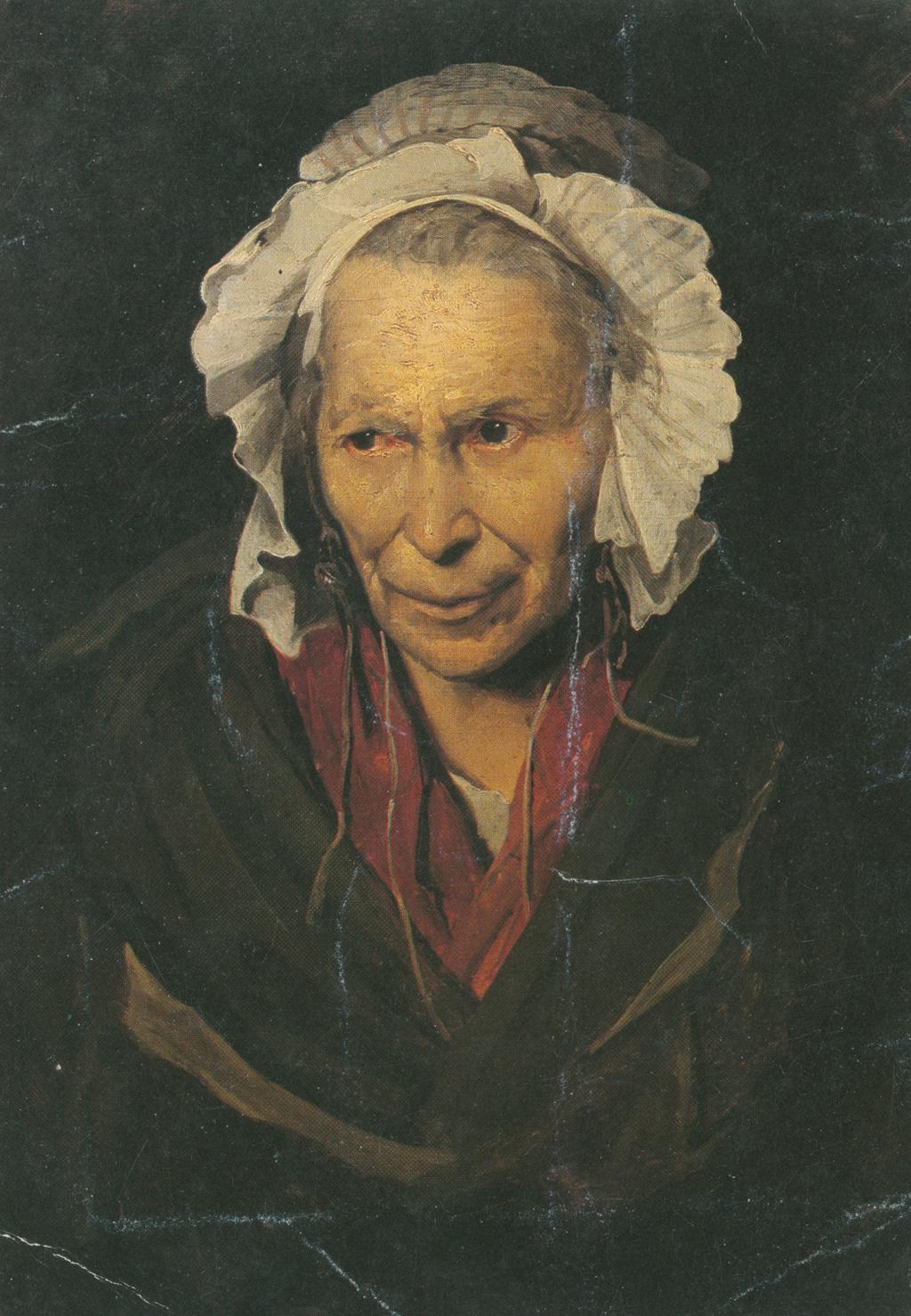 Théodore Géricault (1791-1824), La Folle, 72 x 58cm. Musée des Beaux Arts, Lyon