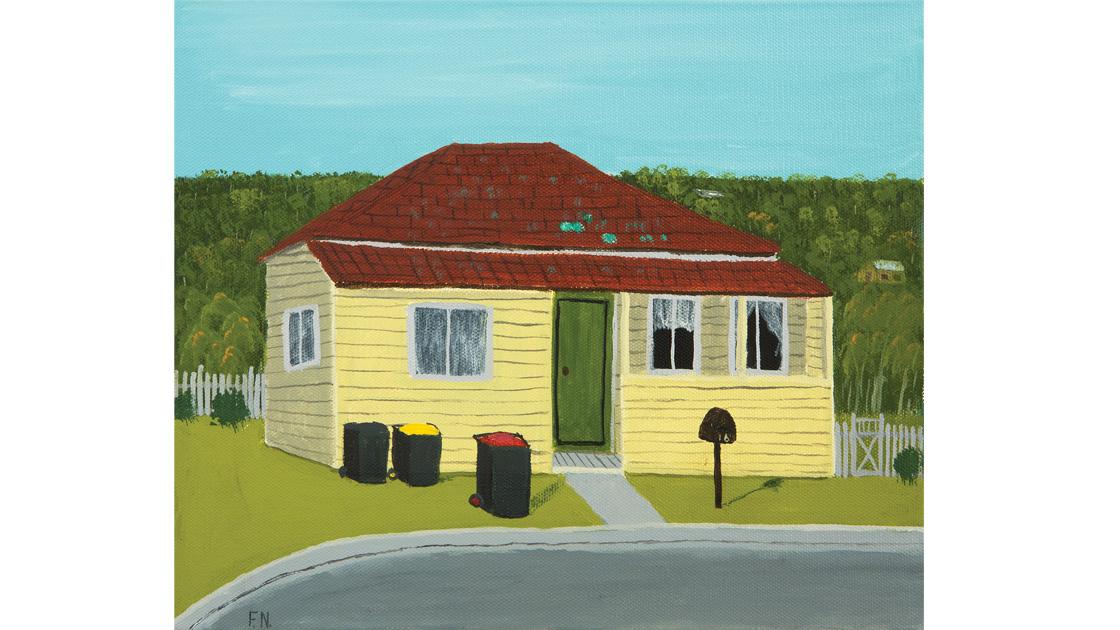 16-Arthur-Street,-locale,-2014,-oil-on-canvas,-25.5-x-30.5cm