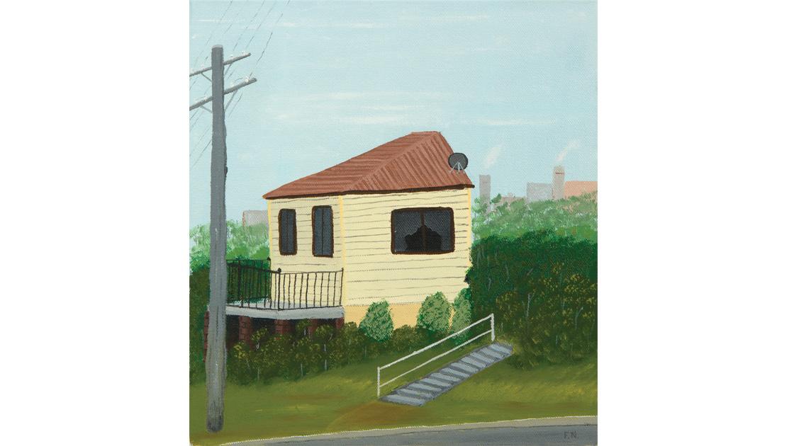 Cringila-Half-House,-locale,-2014,-oil-on-canvas,-30.5-x-25.5cm