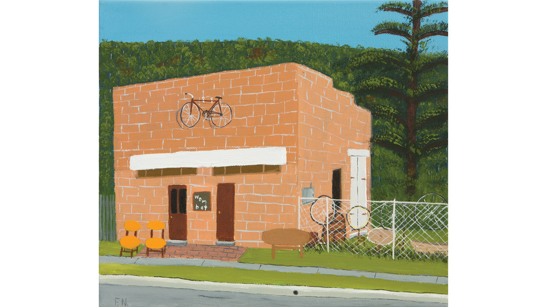 Wombat,-locale,-2014,-oil-on-canvas,-25.5-x-30.5cm