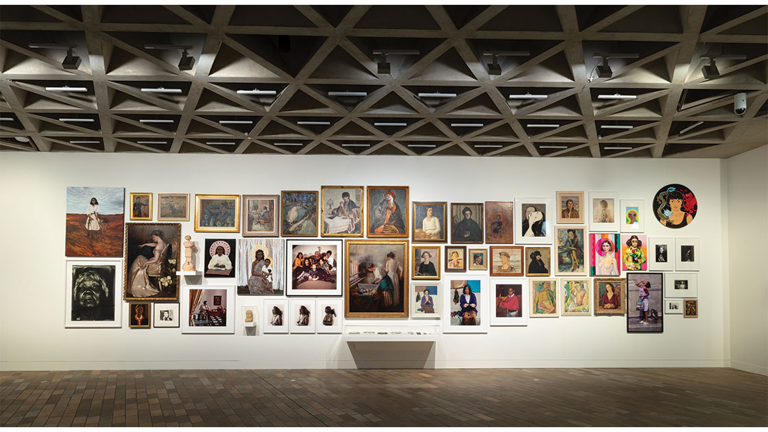 """""""Know My Name,"""" 2021, installation view at National Gallery of Australia, Canberra"""
