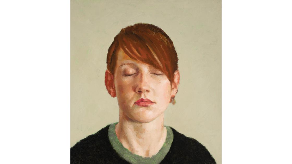 Jude Rae, Interior series, 2004-05, oil on linen, 40.5 x 38cm. Photo Brenton McGeachie