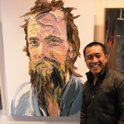 Anh Do wins the 2014 Kogarah Art Prize